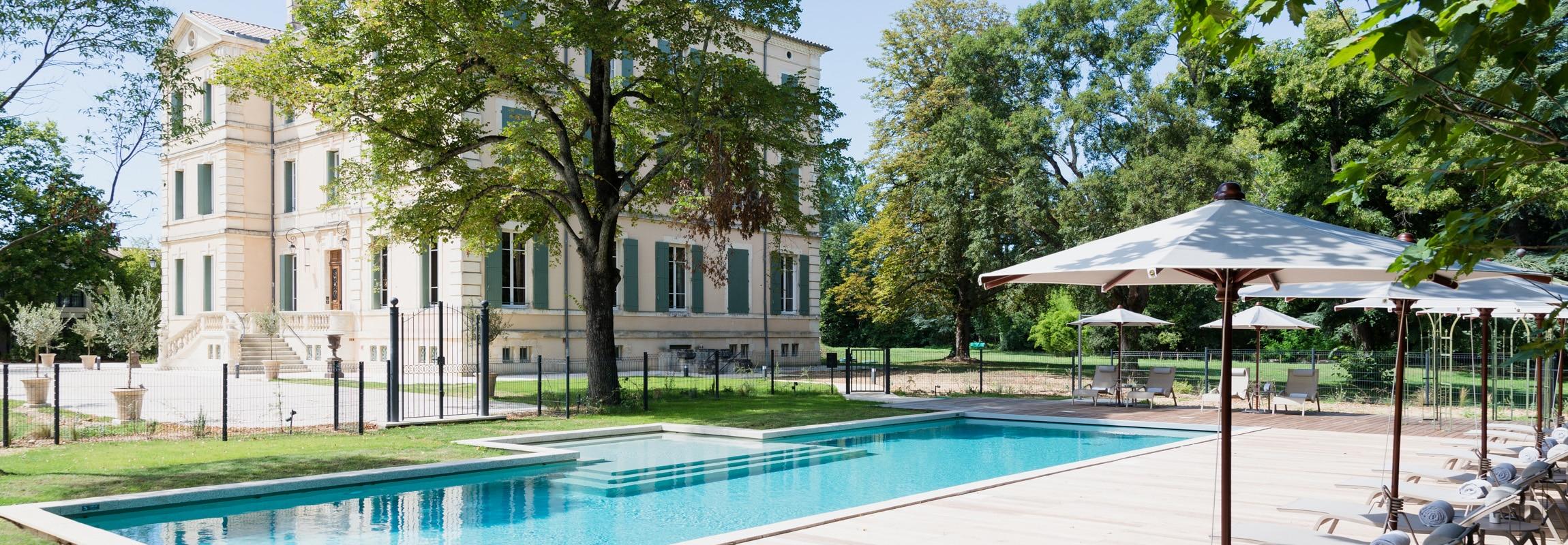 piscine natation provence france ch teau de montcaud. Black Bedroom Furniture Sets. Home Design Ideas